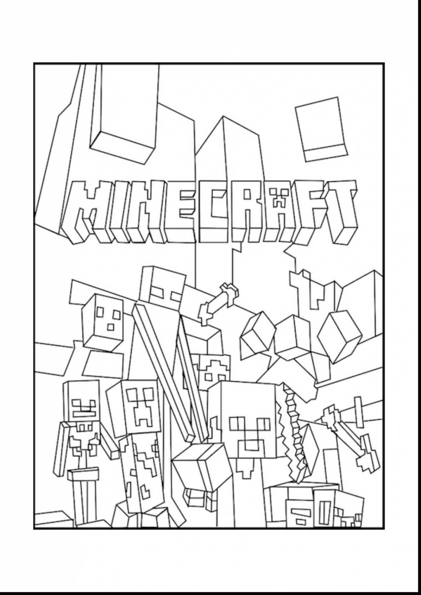 images of minecraft coloring pages minecraft iron golem coloring pages at getcoloringscom of pages images minecraft coloring