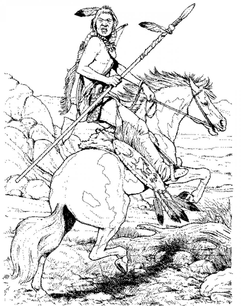 indian pictures to color coloring page indian coloring pages 17 to color pictures indian