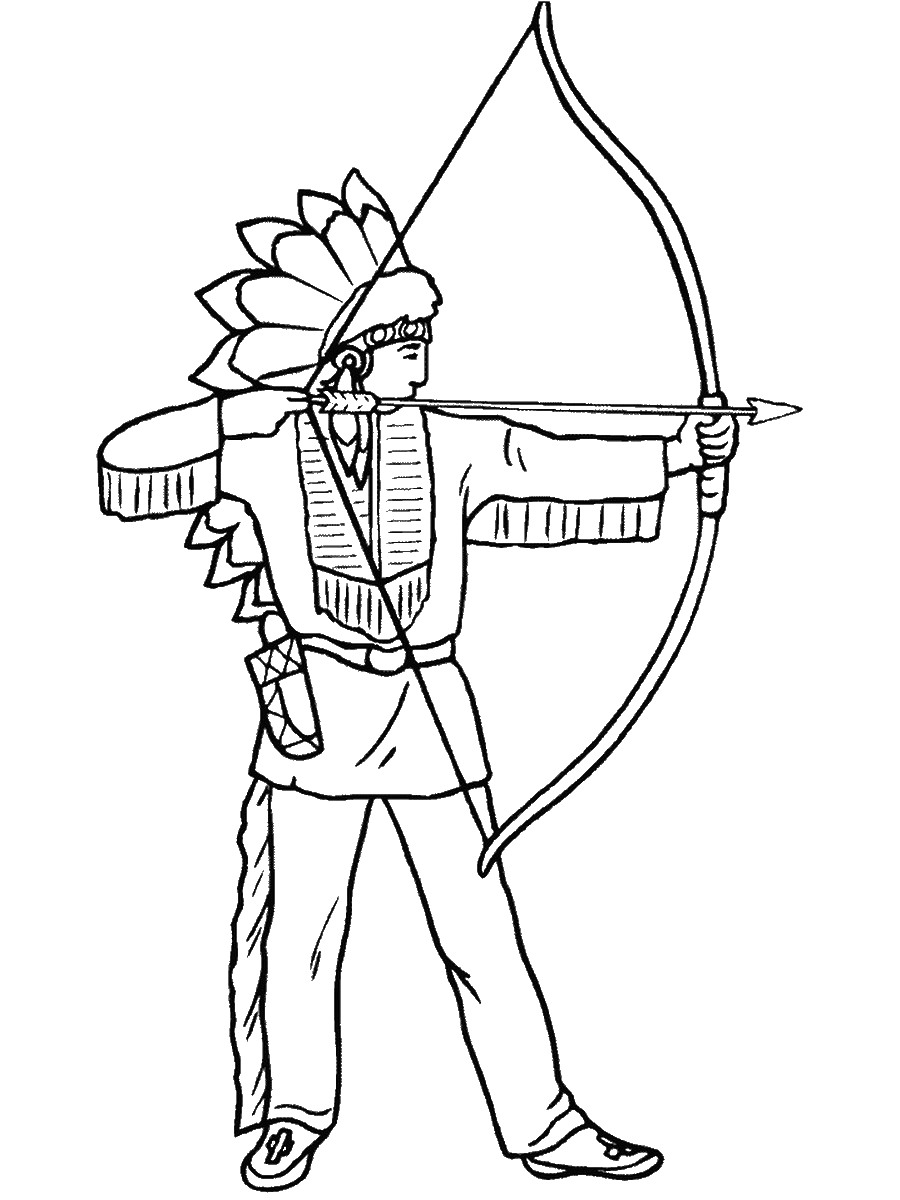indian pictures to color indians coloring pages color pictures indian to
