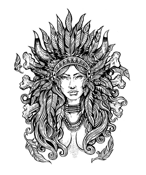 indian pictures to color indians coloring pages indian pictures color to