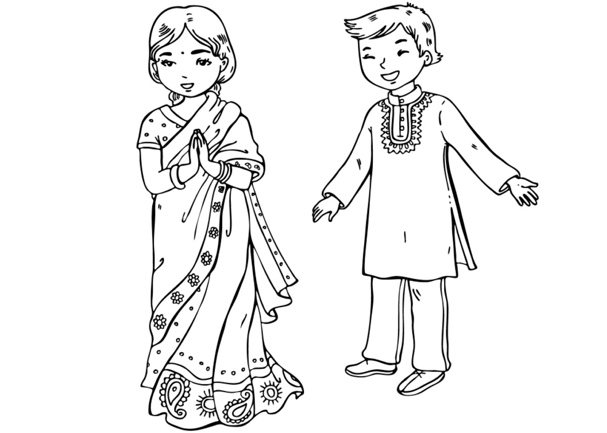 indian pictures to color indians coloring pages pictures color indian to