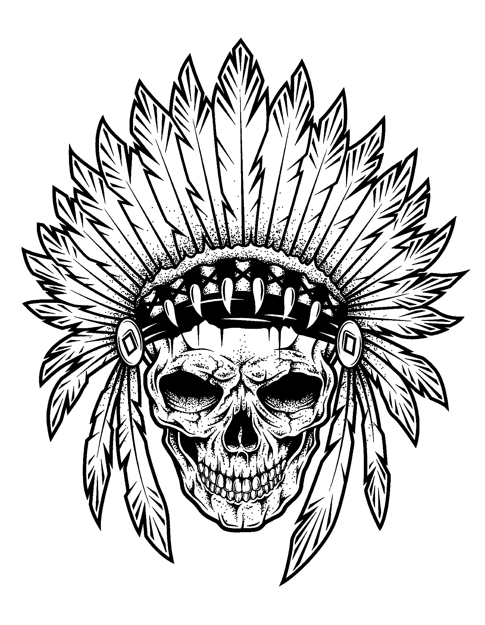 indian pictures to color native american chief drawing at getdrawings free download pictures color indian to