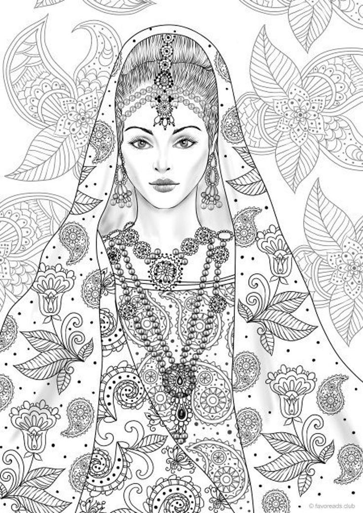 indian pictures to color native american difficult coloring pages native beauties color pictures indian to