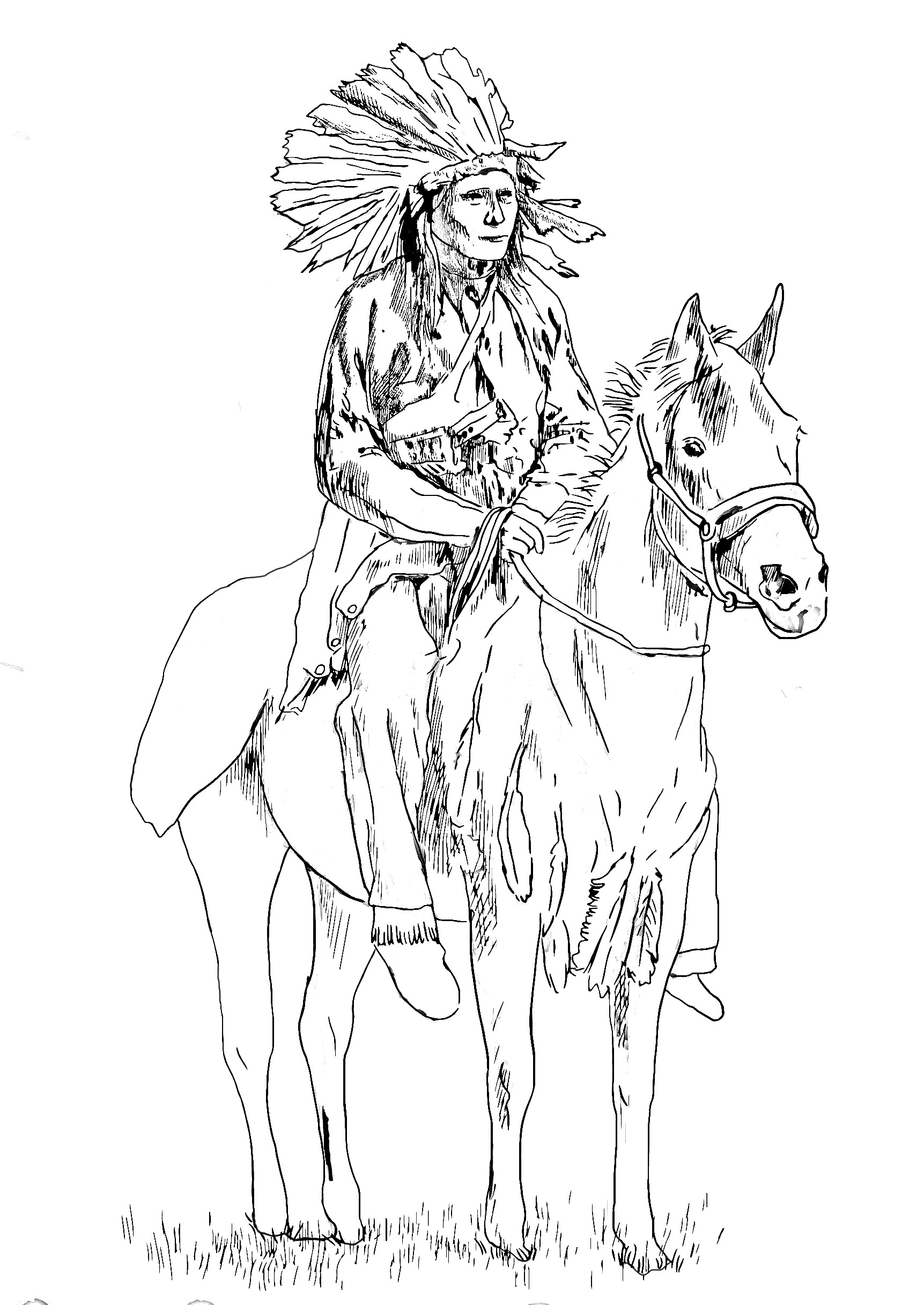 indian pictures to color native american indian coloring pages color indian to pictures