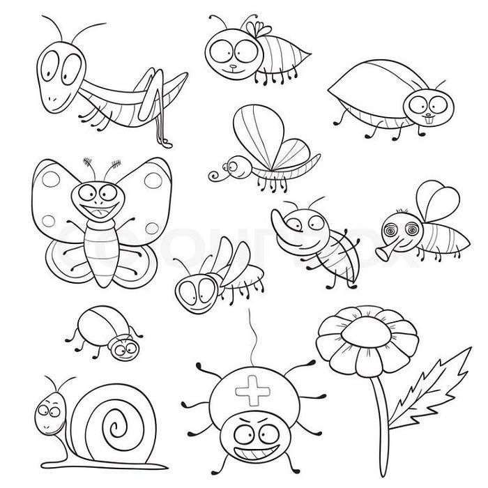 insect coloring sheets insects coloring page 22 to print and color for free sheets insect coloring