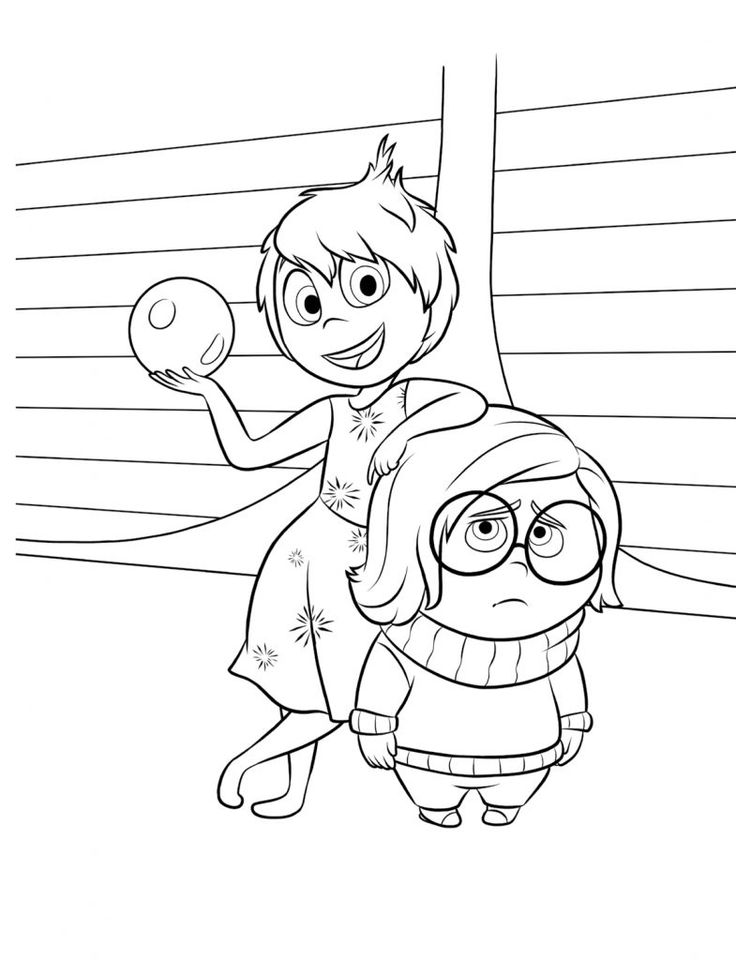 inside out coloring pages all characters 581 best disney coloring pages images on pinterest inside coloring characters out pages all