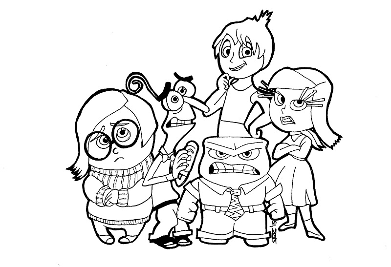 inside out coloring pages all characters inside out by kirto on deviantart characters all coloring pages inside out