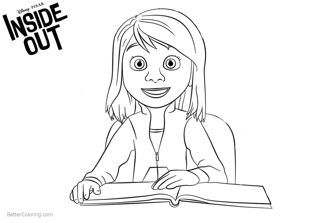 inside out coloring pages all characters inside out coloring pages disneyclipscom characters inside pages coloring out all