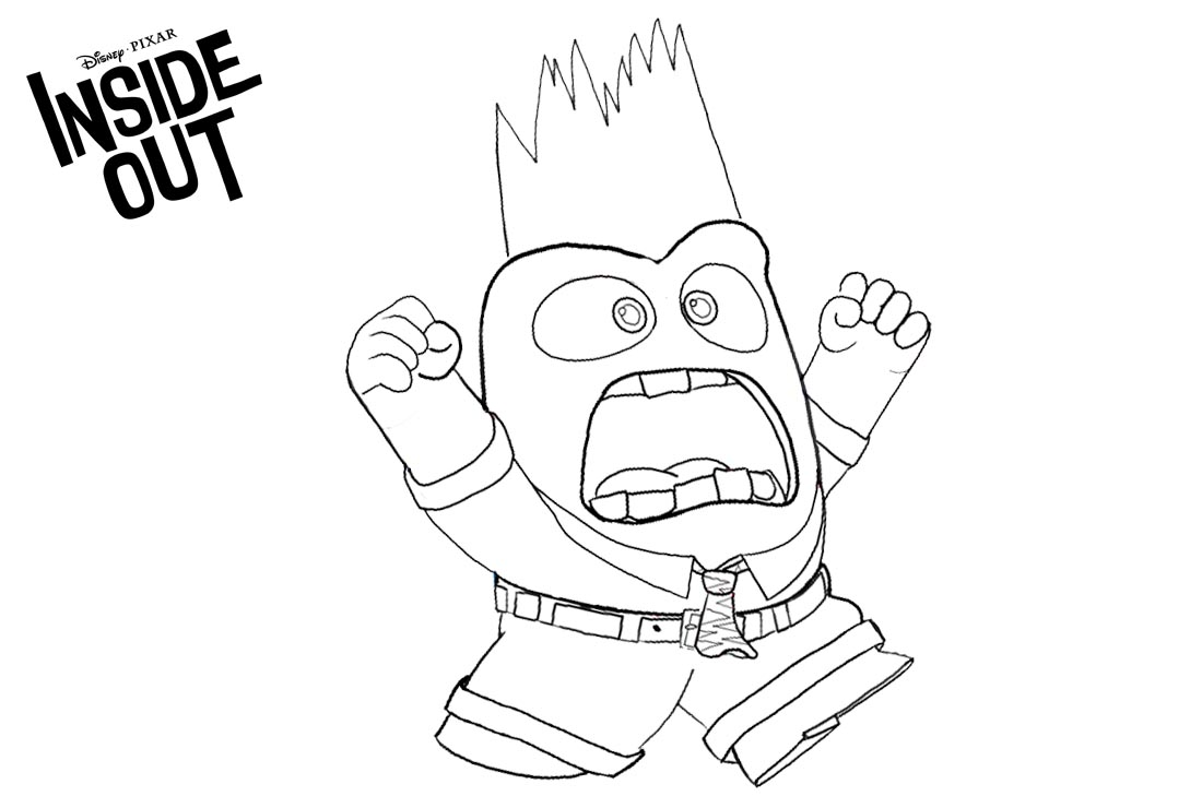 inside out coloring pages all characters inside out coloring pages getcoloringpagescom inside pages coloring out all characters
