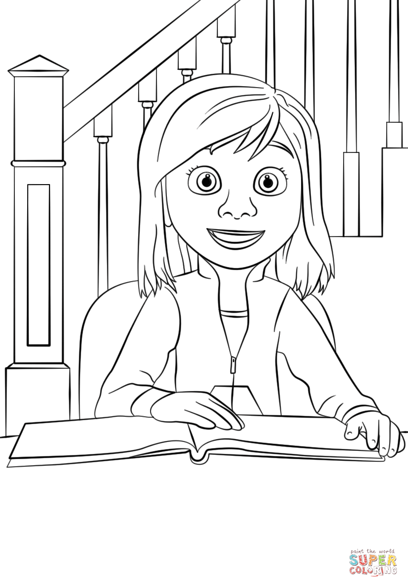 inside out coloring pages all characters inside out riley coloring page free printable coloring pages inside out coloring characters all pages