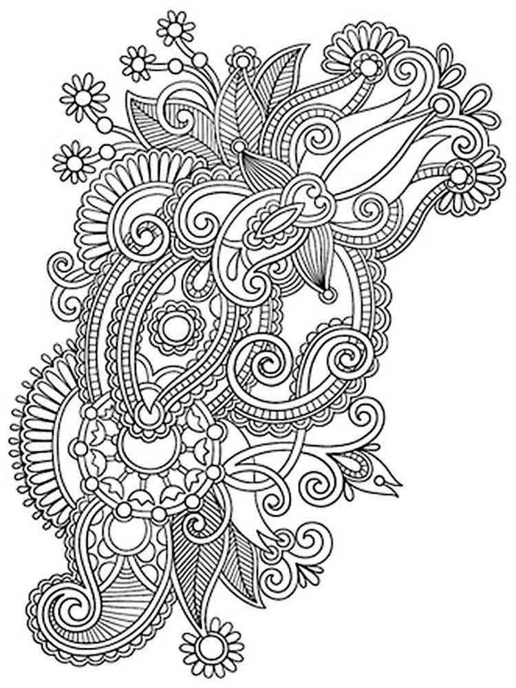 intricate coloring pages 25 great image of intricate coloring pages intricate coloring pages