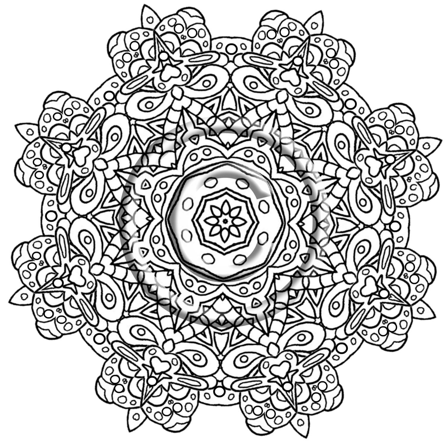 intricate coloring pages intricate design coloring pages at getdrawings free download coloring intricate pages