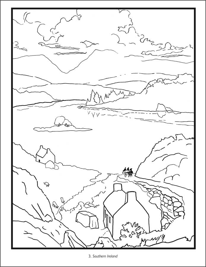 irish coloring pages ireland coloring pages at getcoloringscom free coloring irish pages 1 1