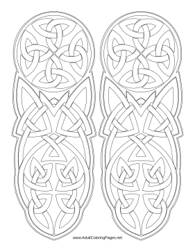 irish coloring pages mandala coloring pages for adults printable free celtic irish pages coloring