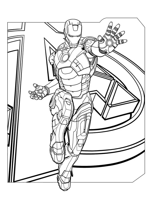 iron man free coloring pages free printable iron man coloring pages for kids cool2bkids coloring man iron free pages
