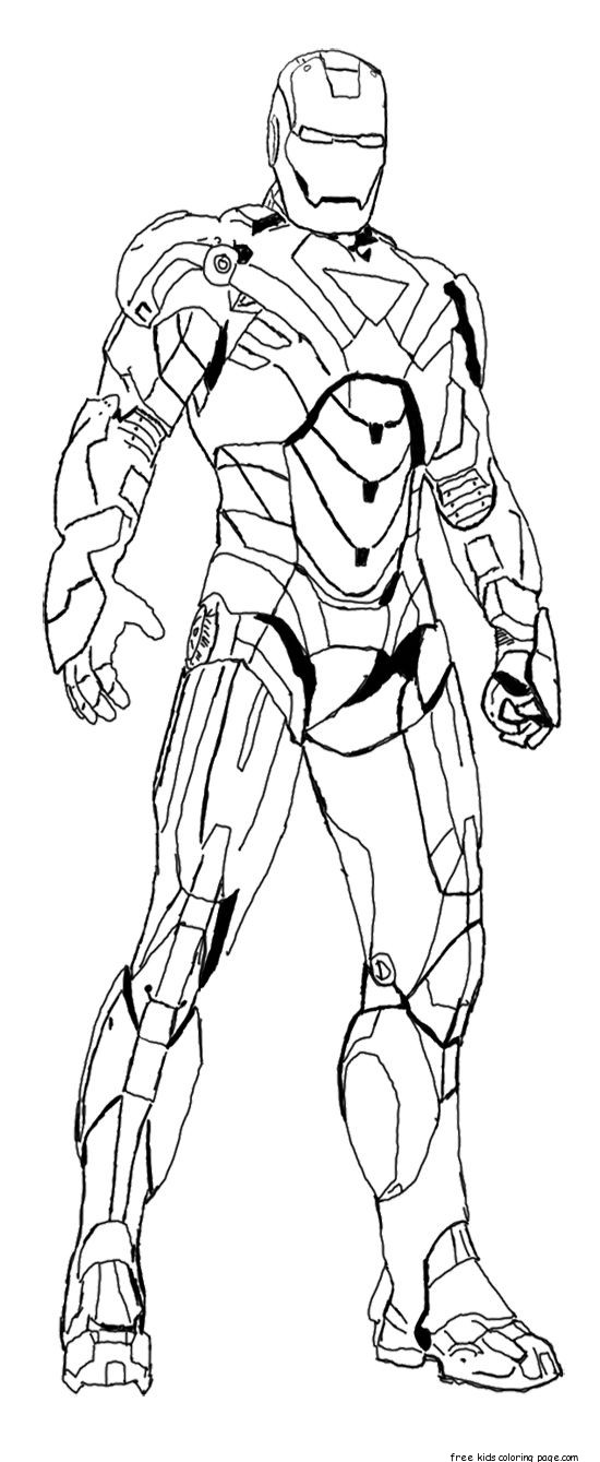 iron man pictures for colouring free printable ironman coloring pages coloring home colouring for man pictures iron
