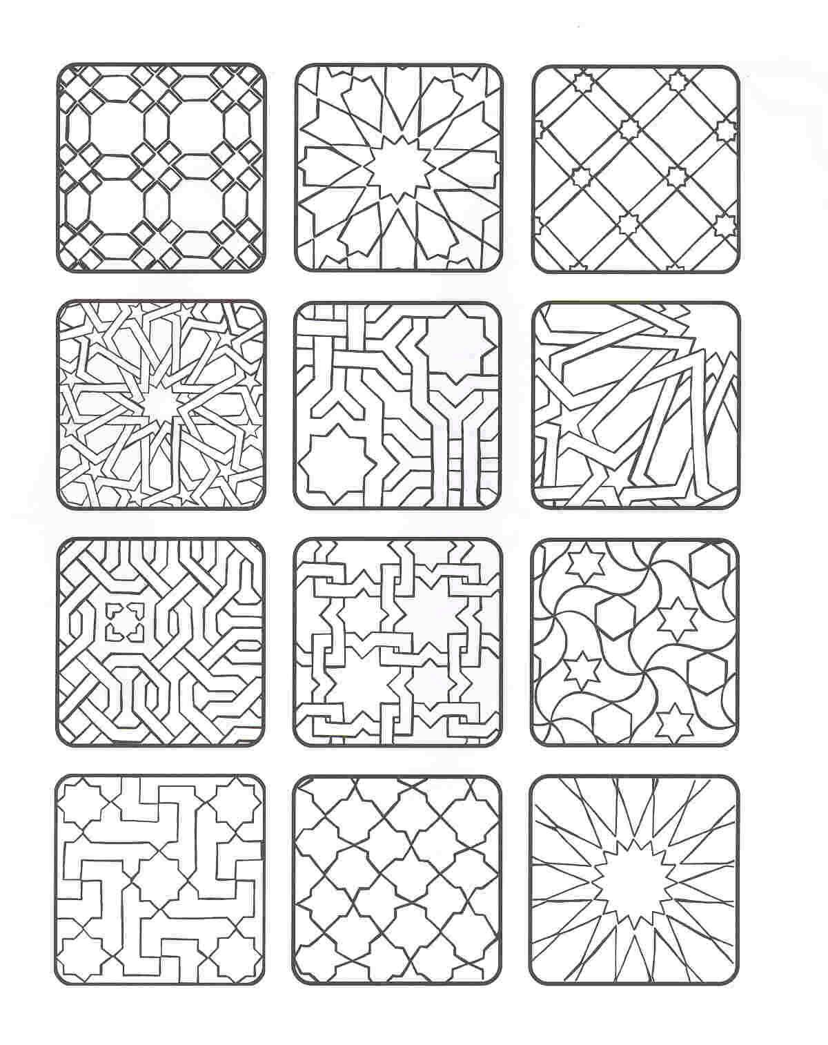 islamic art coloring pages 1000 images about islamic coloring on pinterest islamic coloring islamic art pages