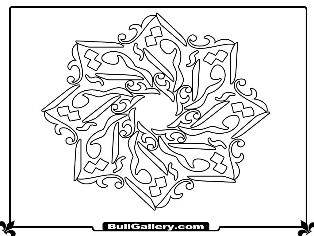 islamic art coloring pages islamic patterns coloring pages kidsuki islamic art coloring pages