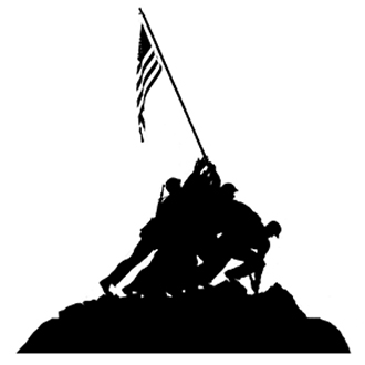iwo jima silhouette vector frames and tags and borders oh my silhouette stencil silhouette iwo jima vector