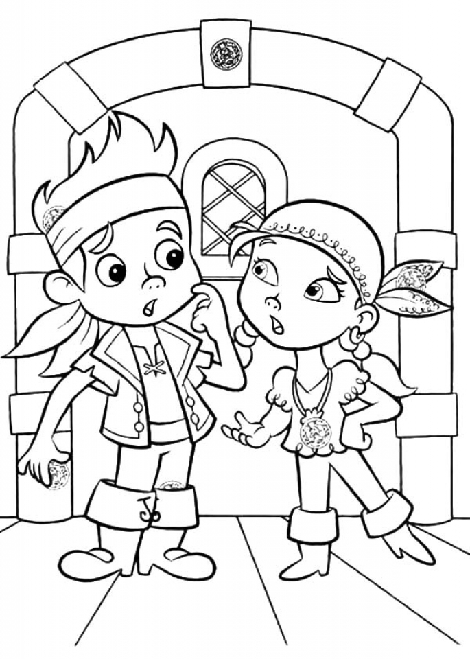 jake neverland pirates coloring pages coloring pages for captain jake and the neverland pirates pirates jake coloring neverland pages
