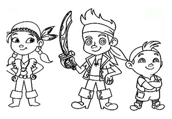 jake neverland pirates coloring pages fun coloring pages jake and the neverland pirates neverland coloring jake pirates pages