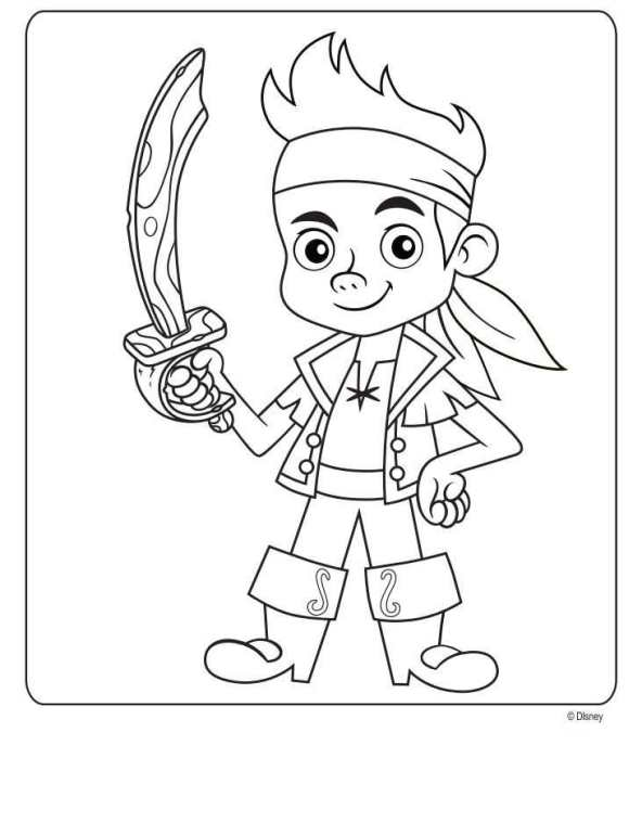 jake neverland pirates coloring pages jake and the never land pirates coloring pages free neverland jake pirates pages coloring