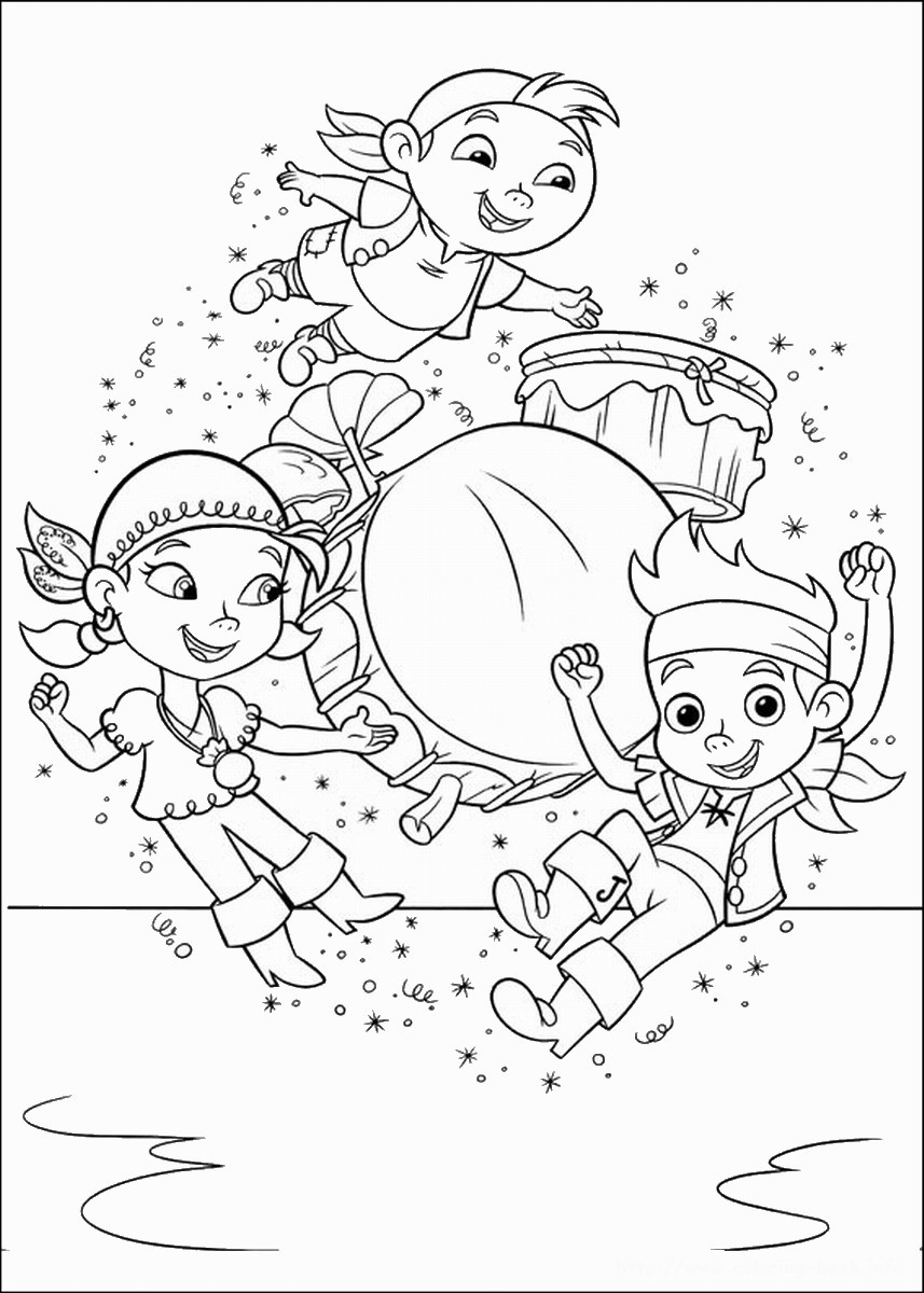 jake neverland pirates coloring pages jake and the never land pirates coloring pages free neverland pages coloring jake pirates
