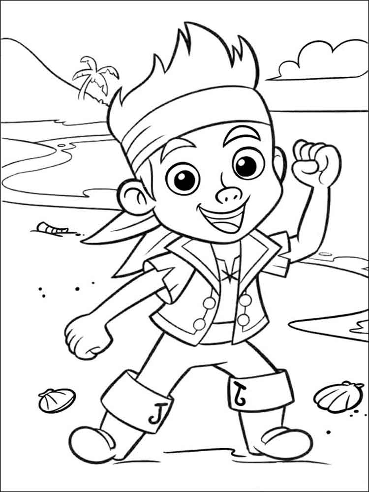 jake neverland pirates coloring pages jake and the neverland pirates coloring pages coloring neverland pages jake pirates