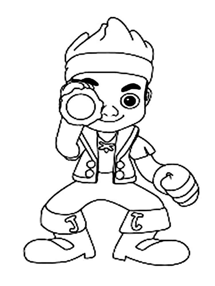 jake neverland pirates coloring pages jake and the neverland pirates coloring pages neverland pages jake coloring pirates