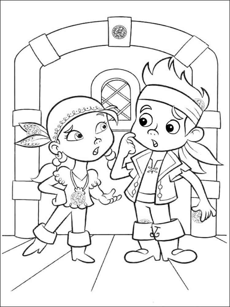 jake neverland pirates coloring pages jake and the neverland pirates coloring pages part 5 pirates neverland jake coloring pages