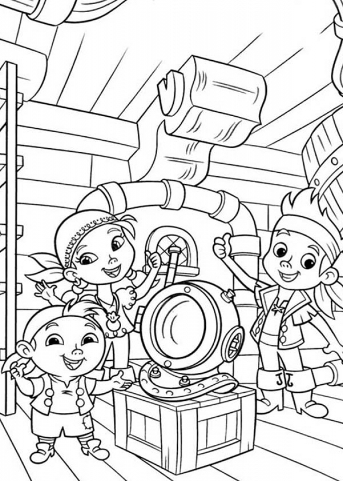 jake neverland pirates coloring pages jake pirate coloring page free printable coloring pages pirates jake neverland pages coloring