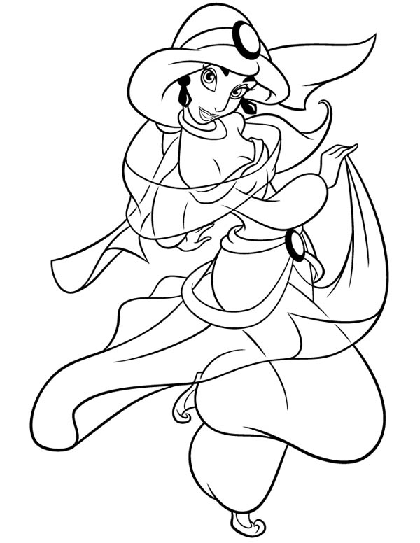 jasmine coloring pictures free printable jasmine coloring pages for kids best pictures jasmine coloring