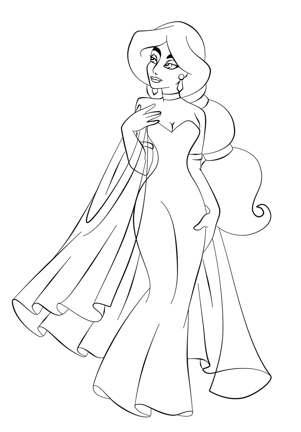 jasmine coloring pictures jasmine coloring page coloring home pictures jasmine coloring