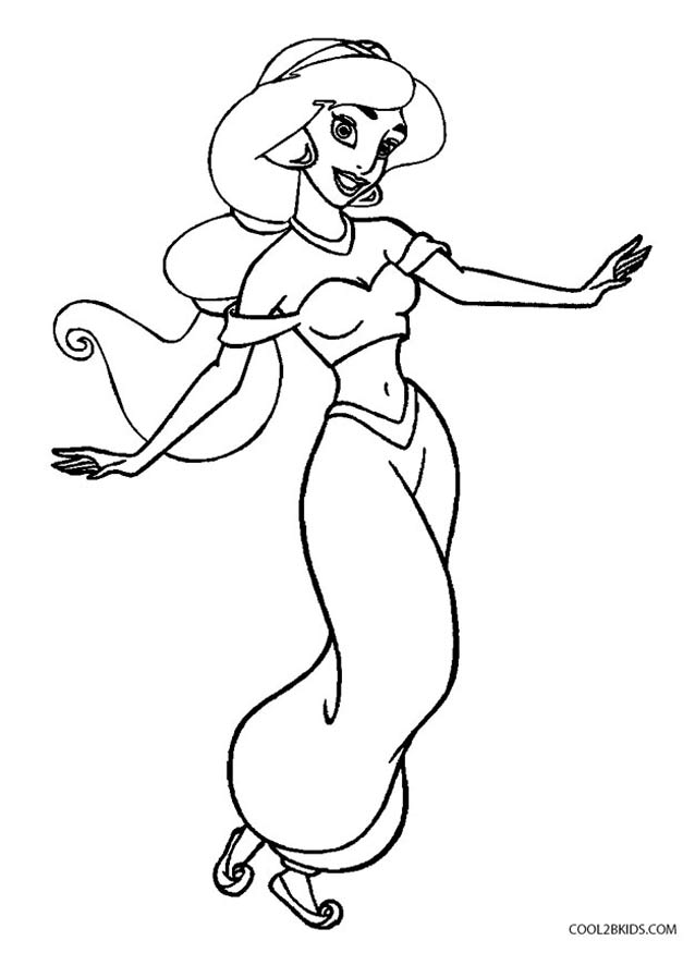 jasmine coloring pictures princess jasmine coloring book drawing disney princess the coloring pictures jasmine