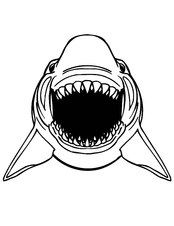 jaws coloring pages jaws coloring pages at getcoloringscom free printable pages jaws coloring