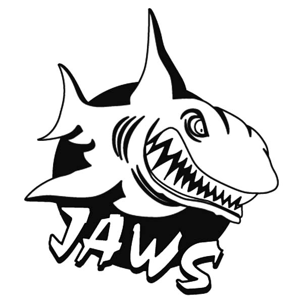 jaws coloring pages jaws logo coloring pages best place to color jaws pages coloring