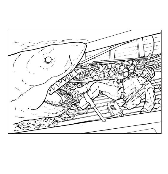 jaws coloring pages jaws movie coloring coloring pages pages jaws coloring