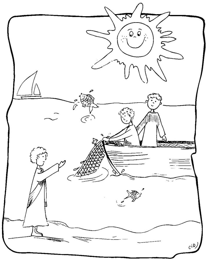 jesus and disciples coloring page first disciples of jesus coloring pages jesus calls his disciples jesus page and coloring