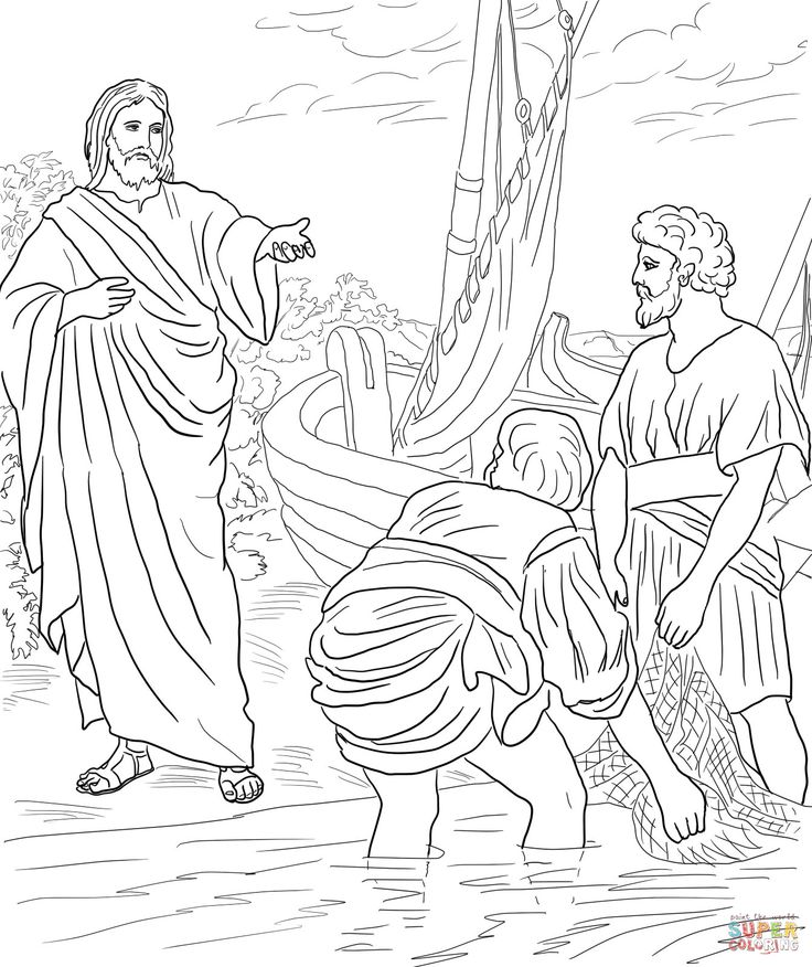 jesus and disciples coloring page jesus and his disciples coloring pages at getcoloringscom and coloring jesus disciples page
