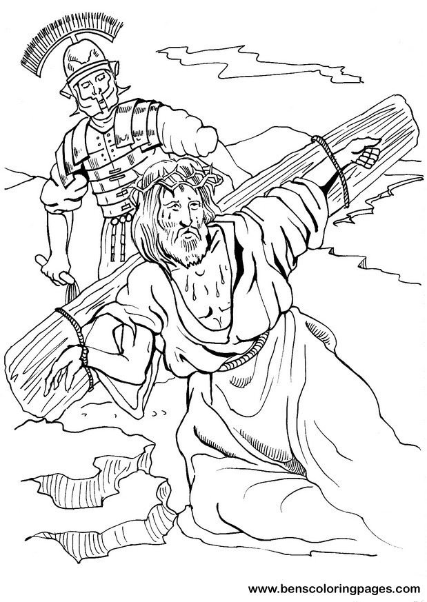 jesus crucifixion coloring pages 2012 03 11 free christian wallpapers coloring pages crucifixion jesus