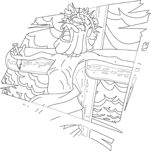jesus crucifixion coloring pages crucified jesus coloring page crucifixion pages jesus coloring
