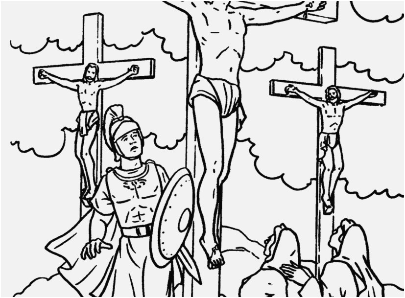 jesus crucifixion coloring pages jesus crucified coloring pages at getdrawings free download jesus pages coloring crucifixion