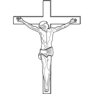 jesus crucifixion coloring pages jesus crucified coloring pages at getdrawings free download pages coloring crucifixion jesus