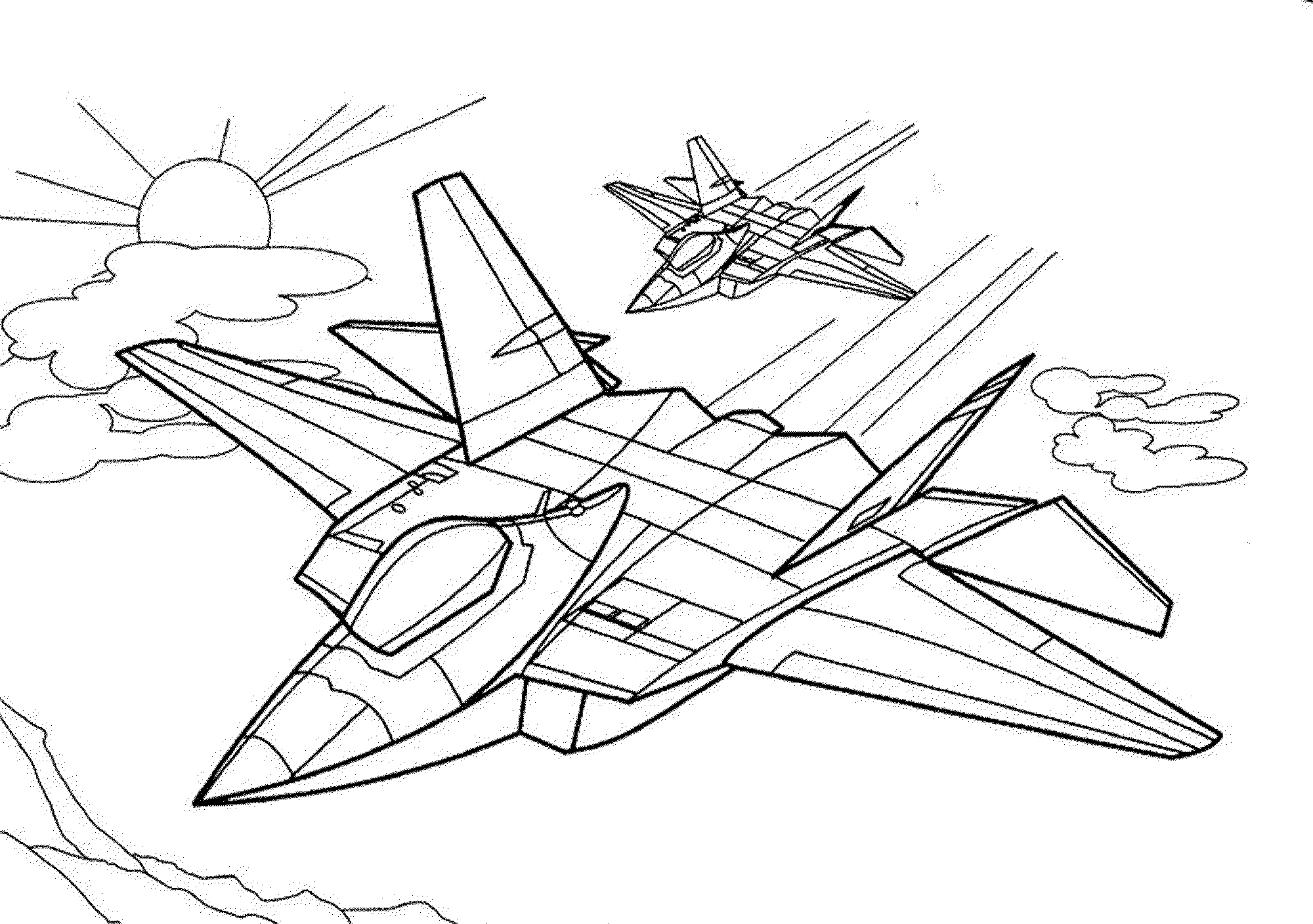 jet coloring images free printable airplane coloring pages for kids cool2bkids coloring images jet