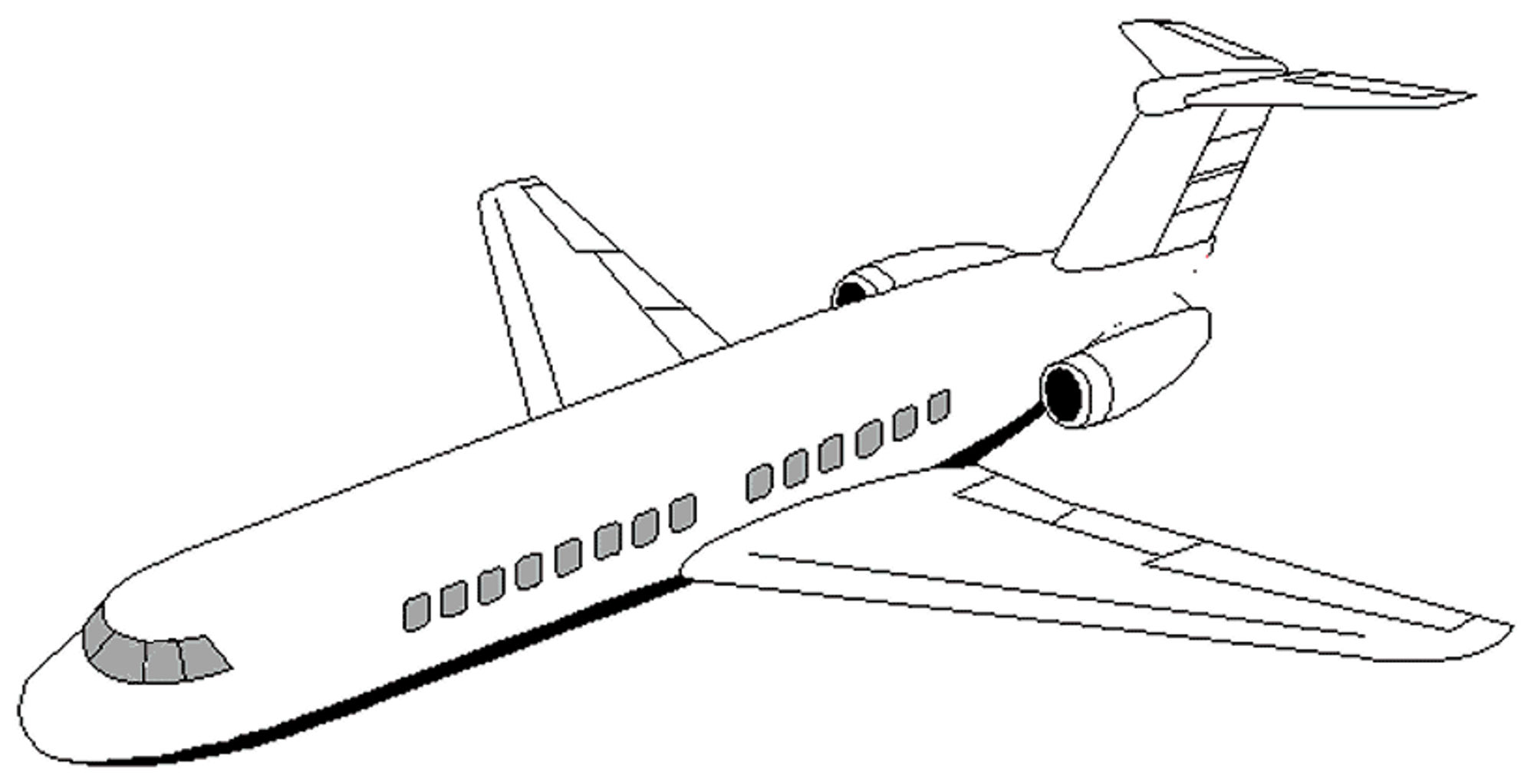 jet coloring images free printable airplane coloring pages for kids cool2bkids coloring images jet 1 2