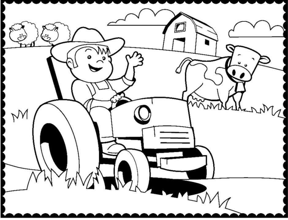john deere tractors coloring pages 25 best tractor coloring pages to print john coloring deere pages tractors