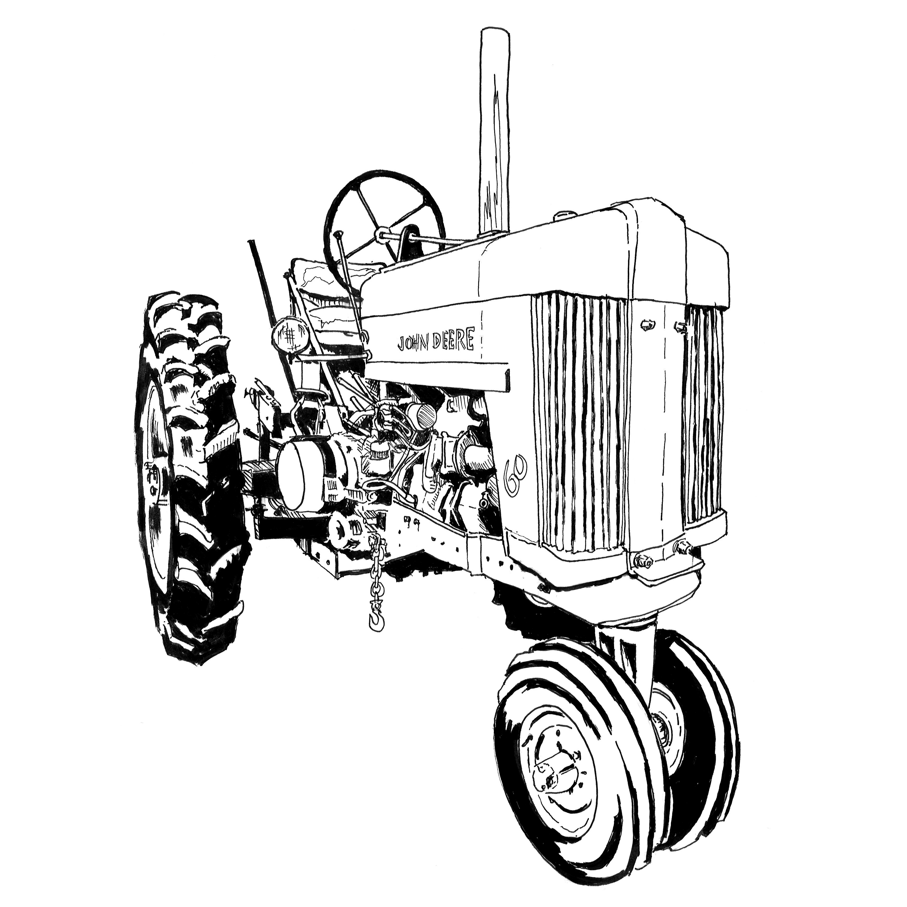 john deere tractors coloring pages free printable tractor coloring pages for kids deere tractors john pages coloring