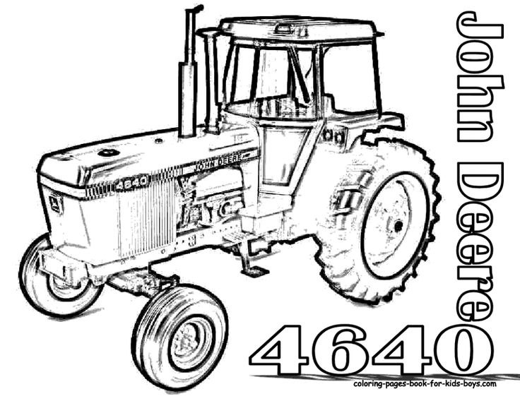 john deere tractors coloring pages john deere tractor drawing at getdrawingscom free for deere pages john tractors coloring