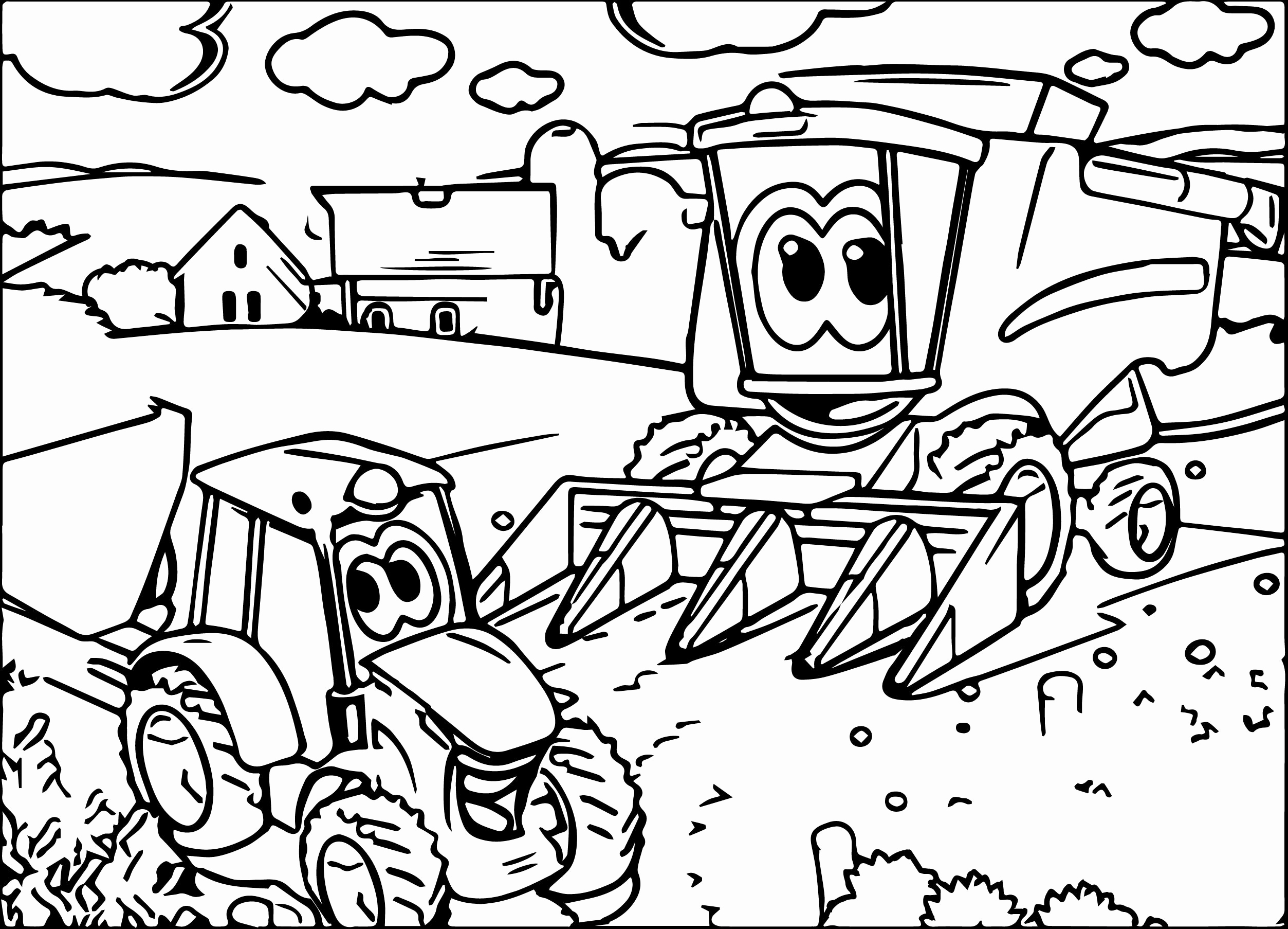 john deere tractors coloring pages john deere tractor drawing at getdrawingscom free for pages deere coloring john tractors
