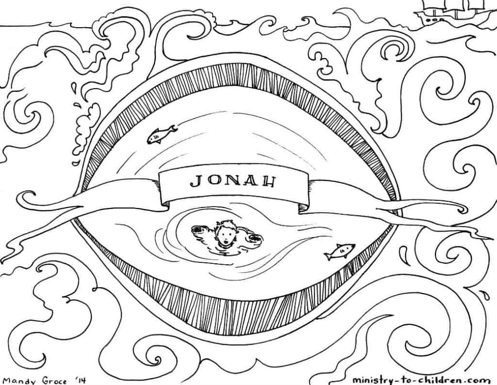 jonah coloring free printable jonah and the whale coloring pages for kids jonah coloring